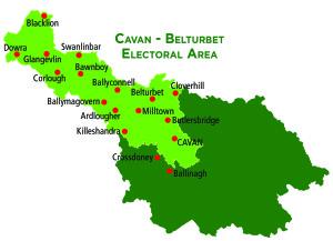 Electoral Area Map -